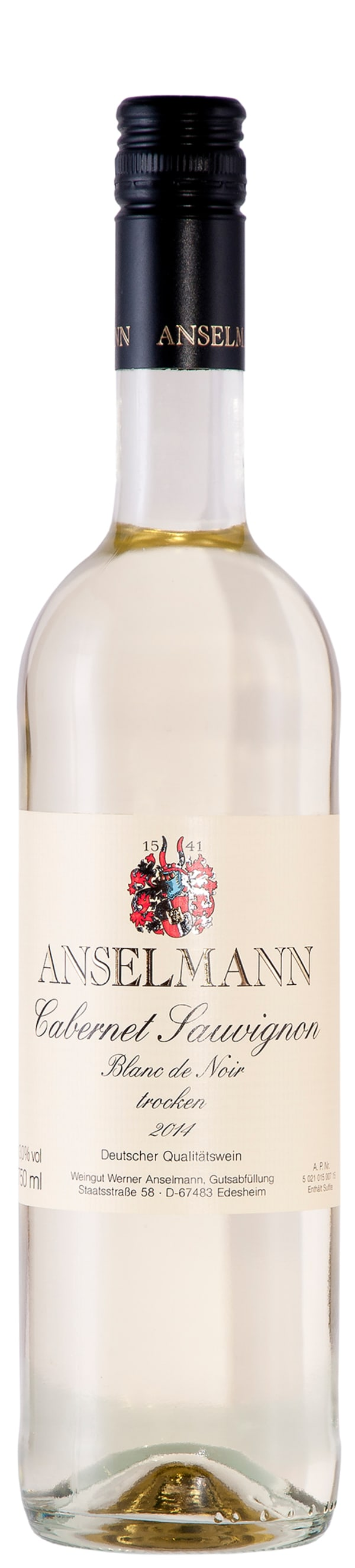 Anselmann Cabernet Sauvignon Blanc de Noir 2018