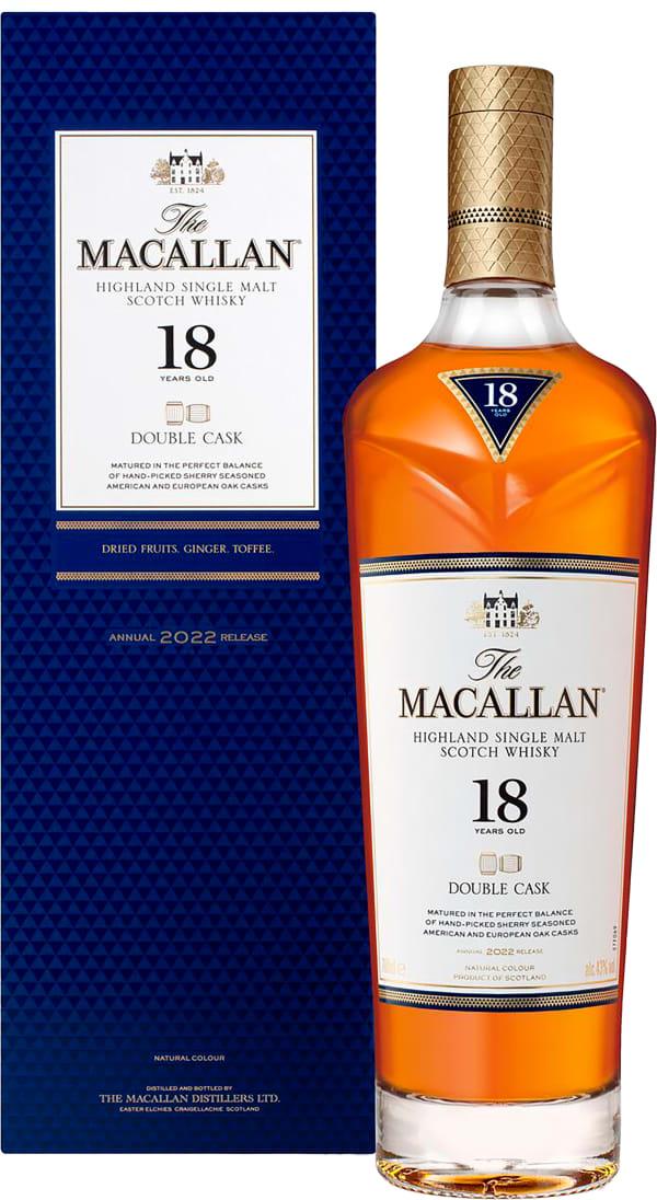 The Macallan Double Cask 18 Year Old Single Malt