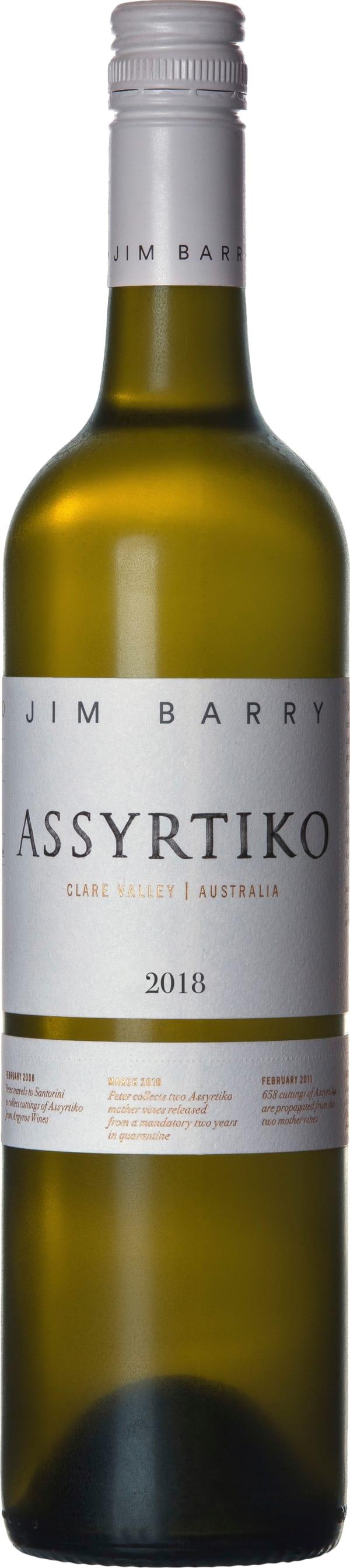 Jim Barry Assyrtiko 2018