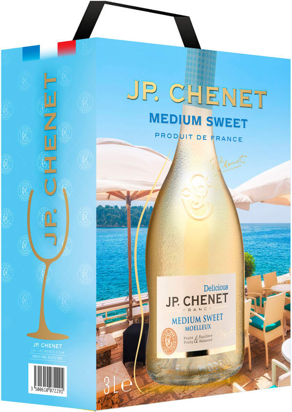 JP. Chenet Medium Sweet 2018 bag-in-box