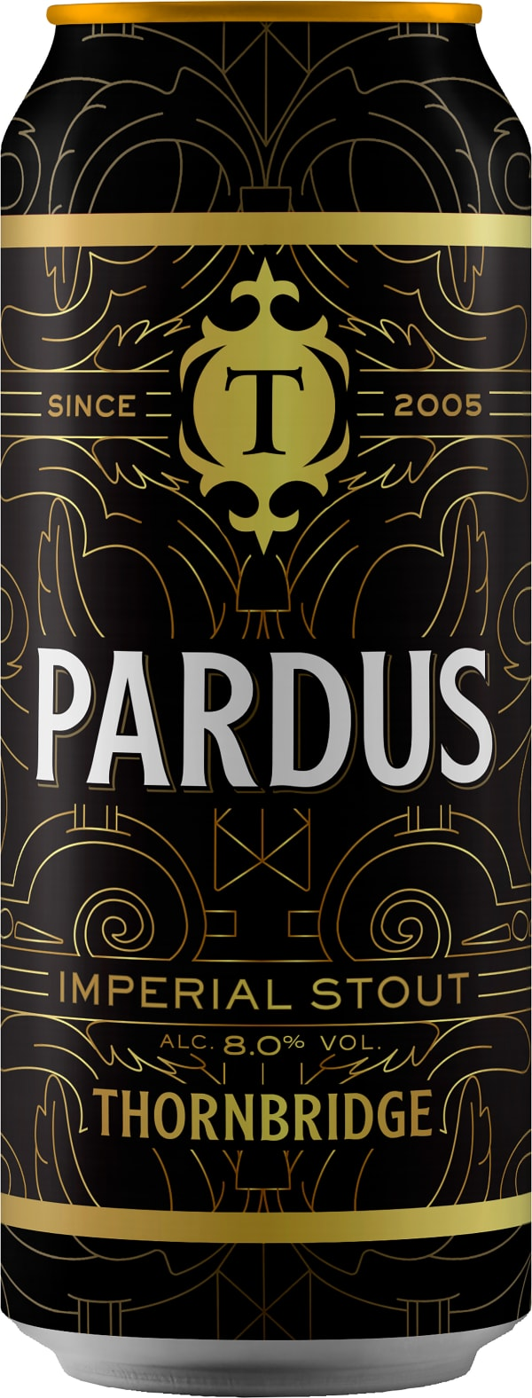 Thornbridge Pardus Imperial Stout burk