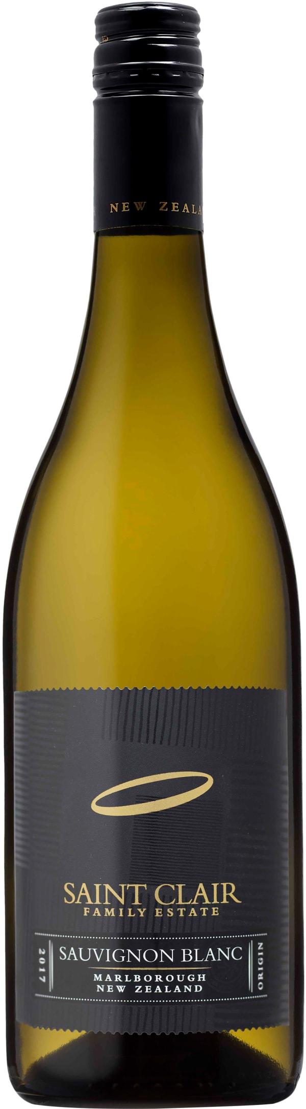 Saint Clair Marlborough Origin Sauvignon Blanc 2017