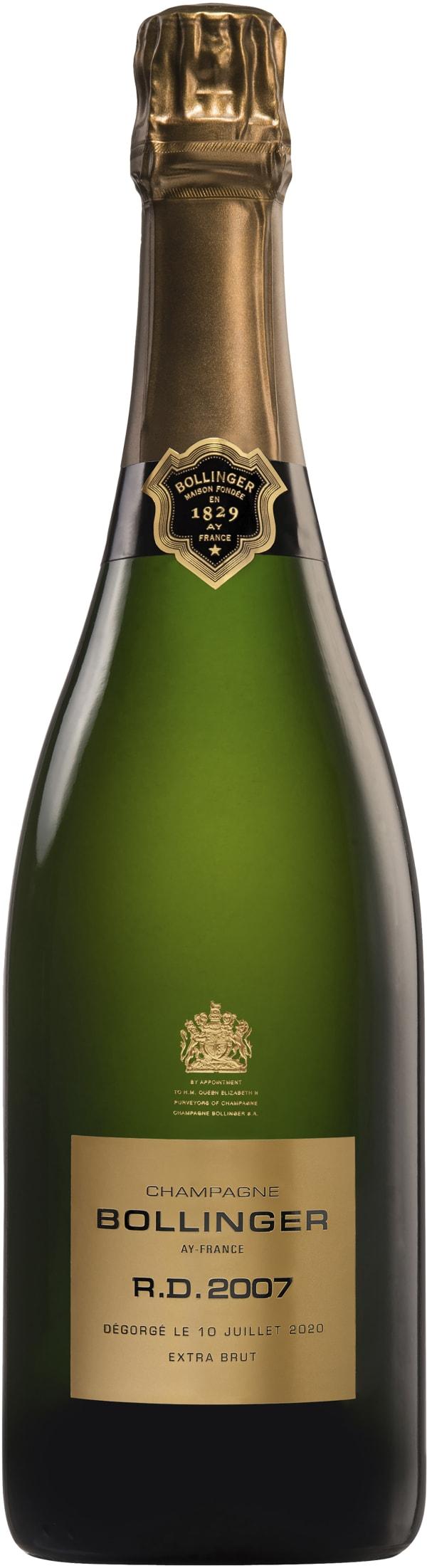 Bollinger R.D. Champagne Extra Brut 2007