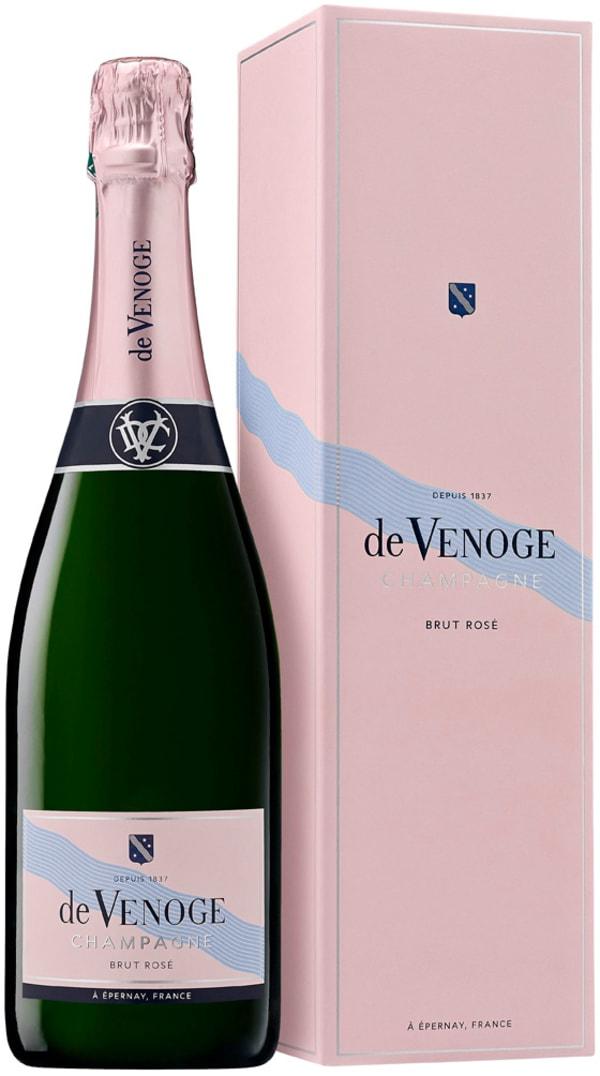 de Venoge Cordon Bleu Rosé Champagne Brut