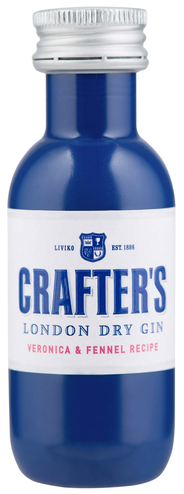 Crafter's London Dry Gin plastic bottle