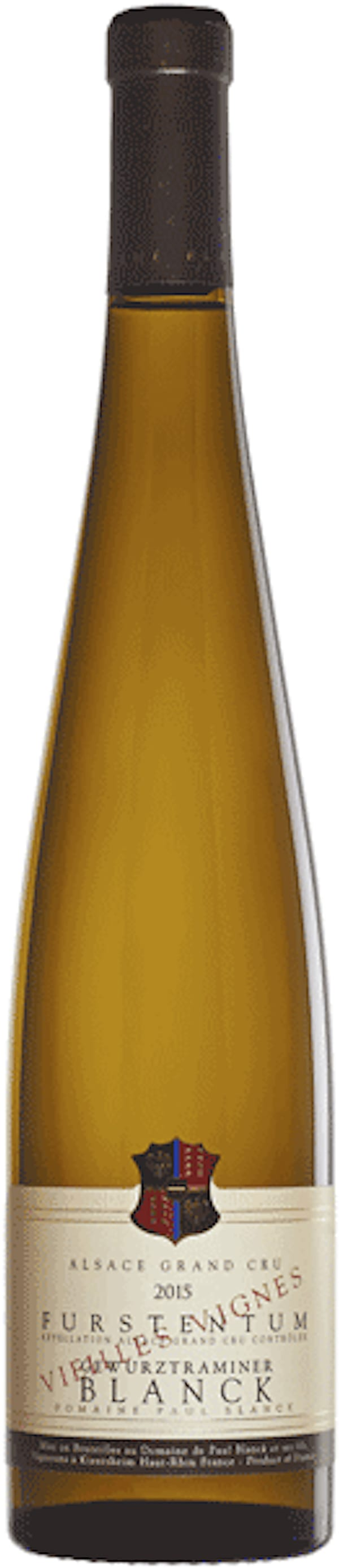 Paul Blanck Gewurztraminer Furstentum Grand Cru Vieilles Vignes 2015