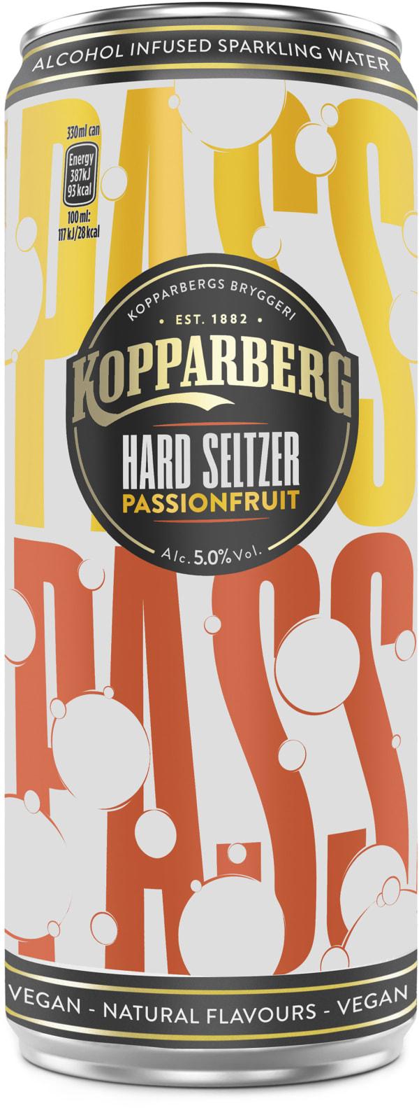Kopparberg Hard Seltzer Passionfruit can