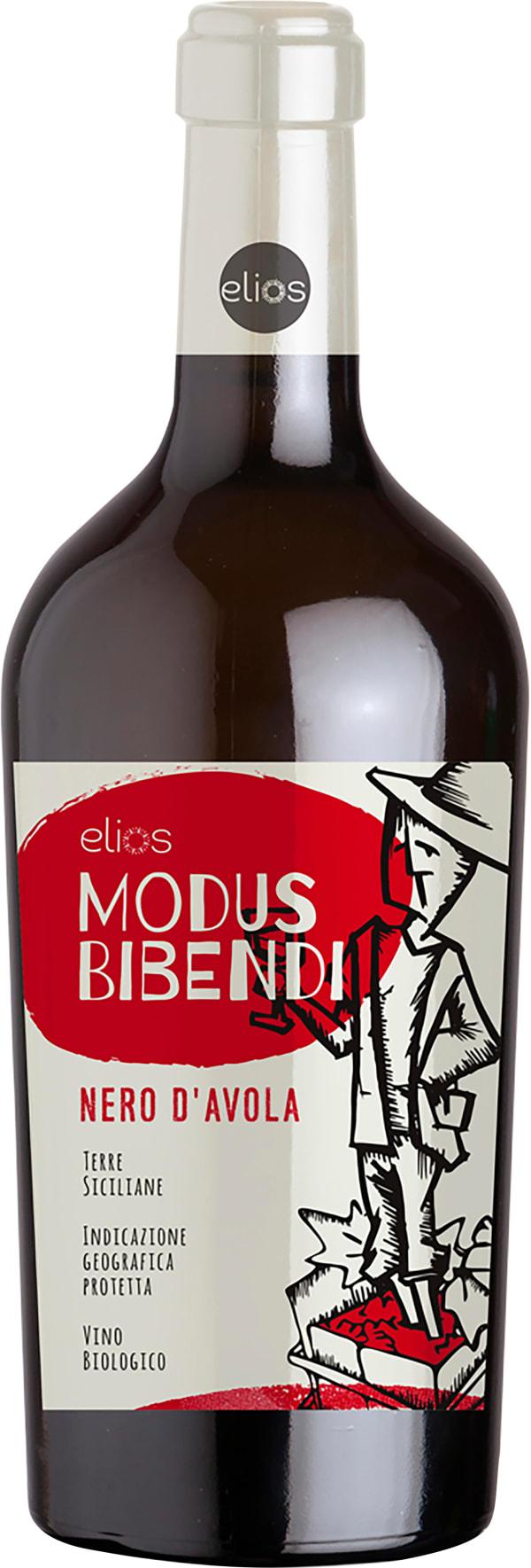 Elios Modus Bibendi Nero D'avola Biologico 2017