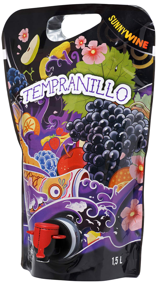 Sunnywine Tempranillo  2018 wine pouch