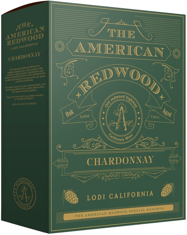 American Redwood Chardonnay 2019 bag-in-box