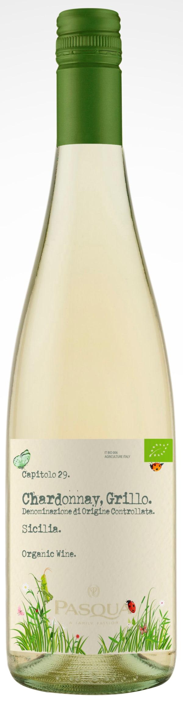 Pasqua Chardonnay Grillo Organic 2018