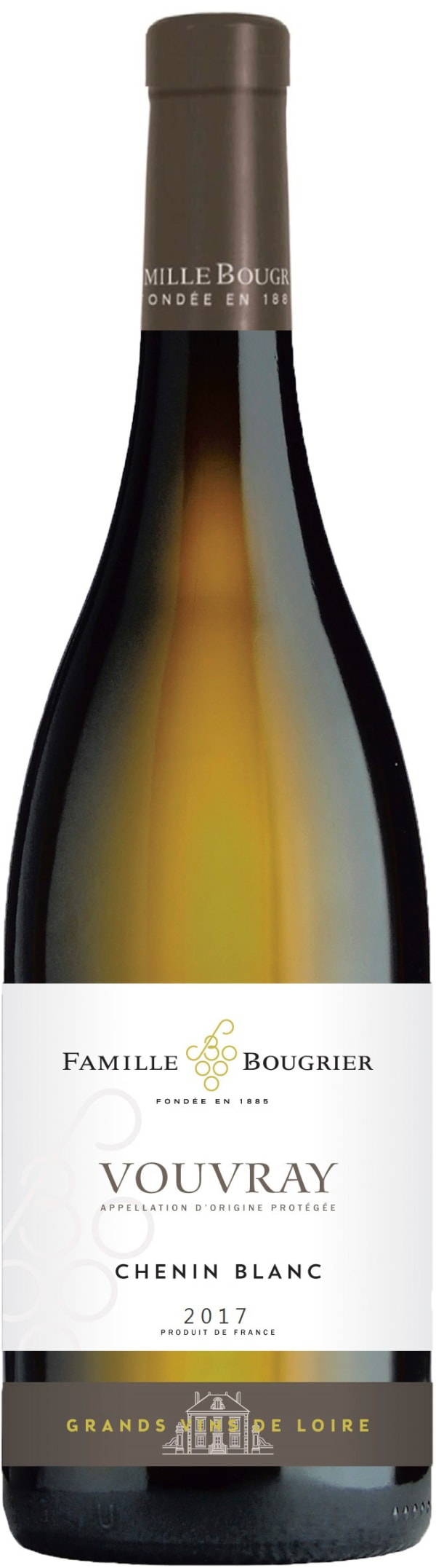 Famille Bougrier Collection Vouvray Chenin Blanc 2017