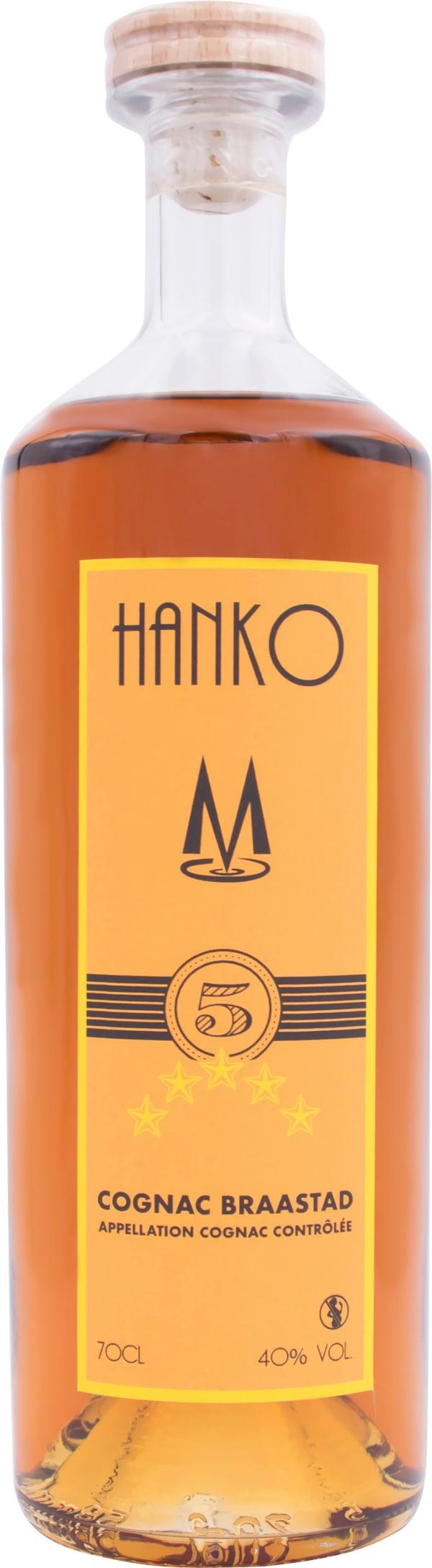 Hanko 5 Star Cognac Braastad