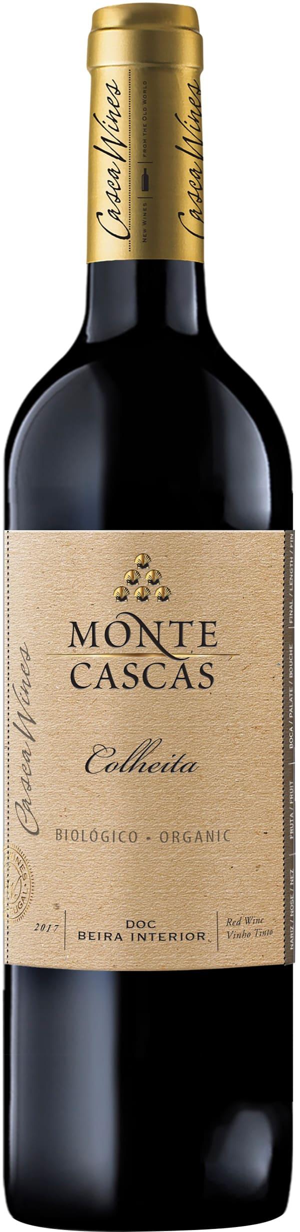 Monte Cascas Colheita Organic Tinto 2018
