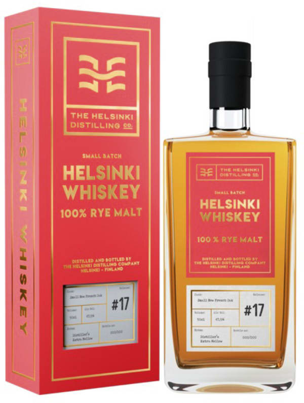 Helsinki Whiskey 100 % Rye Malt
