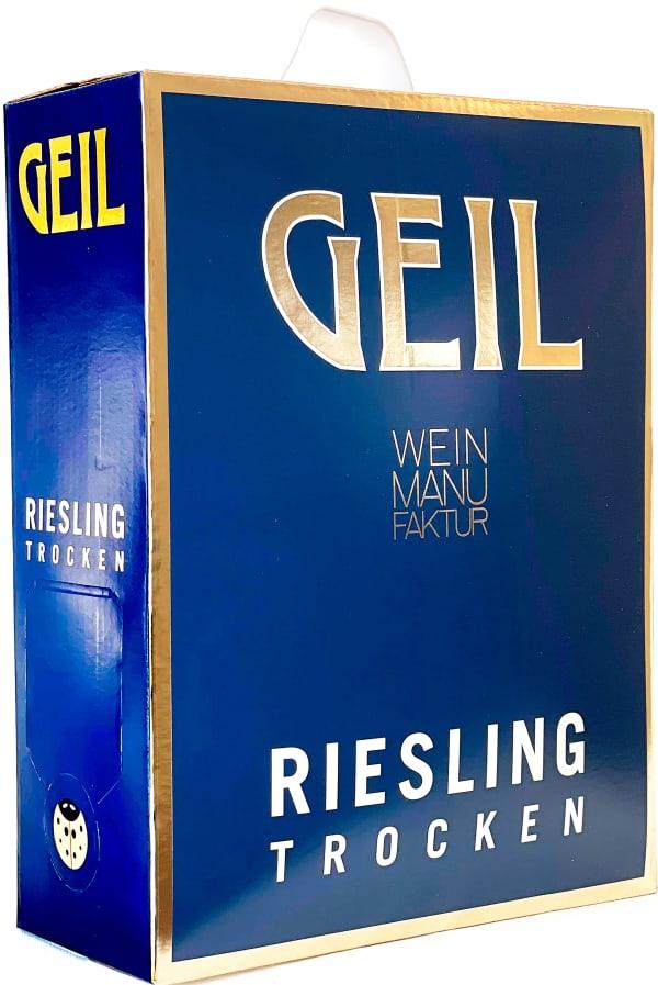 Geil Riesling Trocken  2020 lådvin