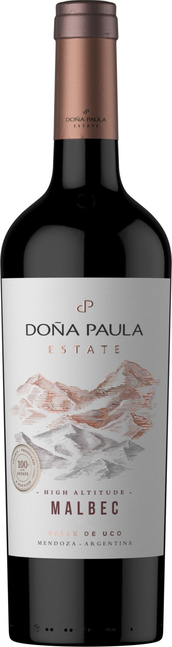 Doña Paula Estate Malbec 2018