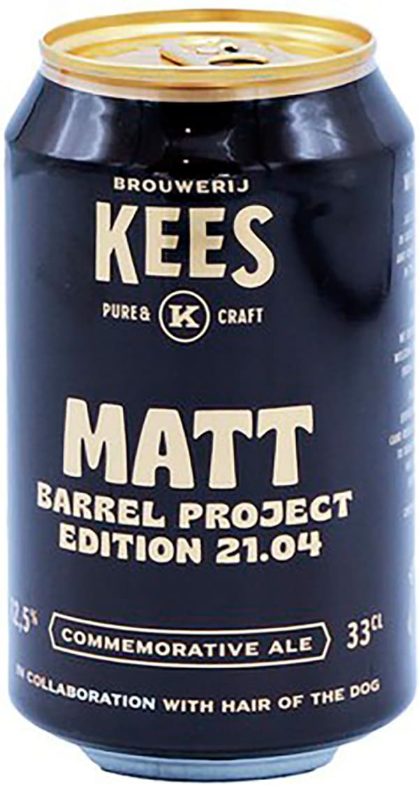 Kees Matt Barrel Project 21.04 can