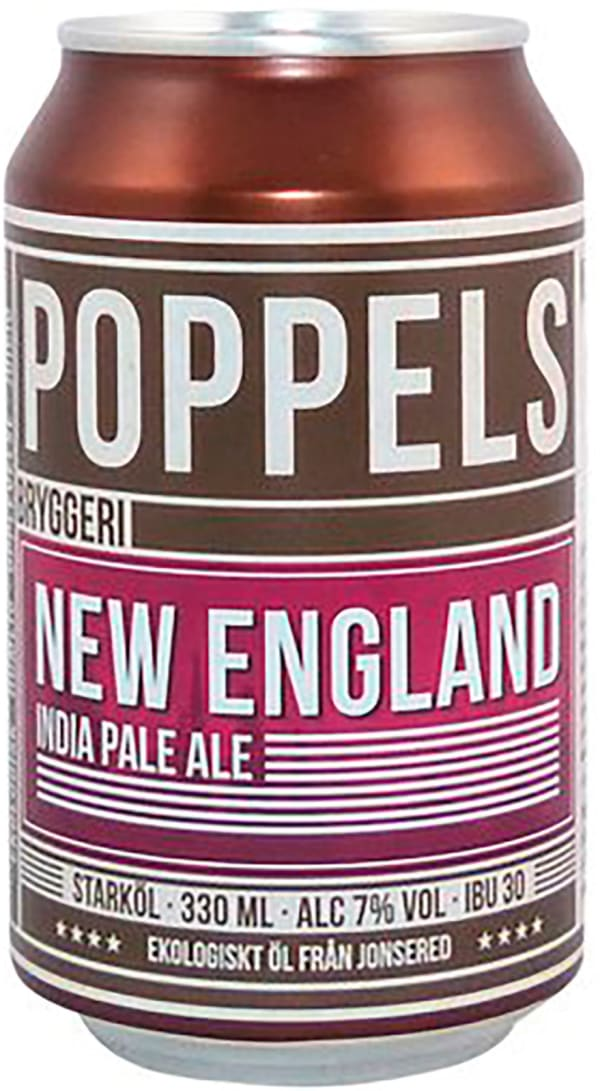 Poppels New England India Pale Ale can