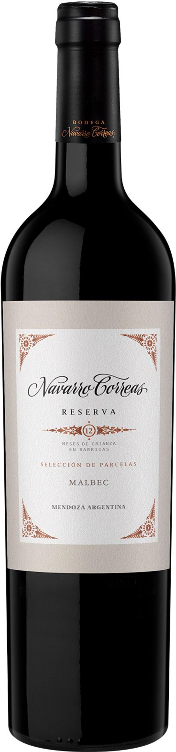 Navarro Correas Reserve Malbec 2016