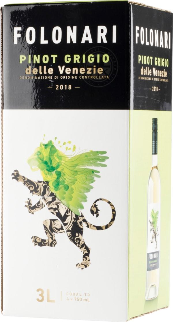 Folonari Pinot Grigio 2018 bag-in-box
