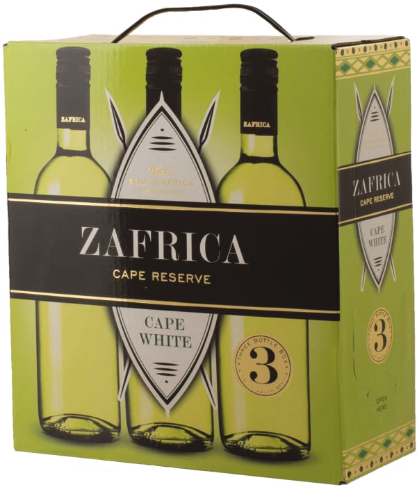 Zafrica Cape Reserve White 2017 hanapakkaus