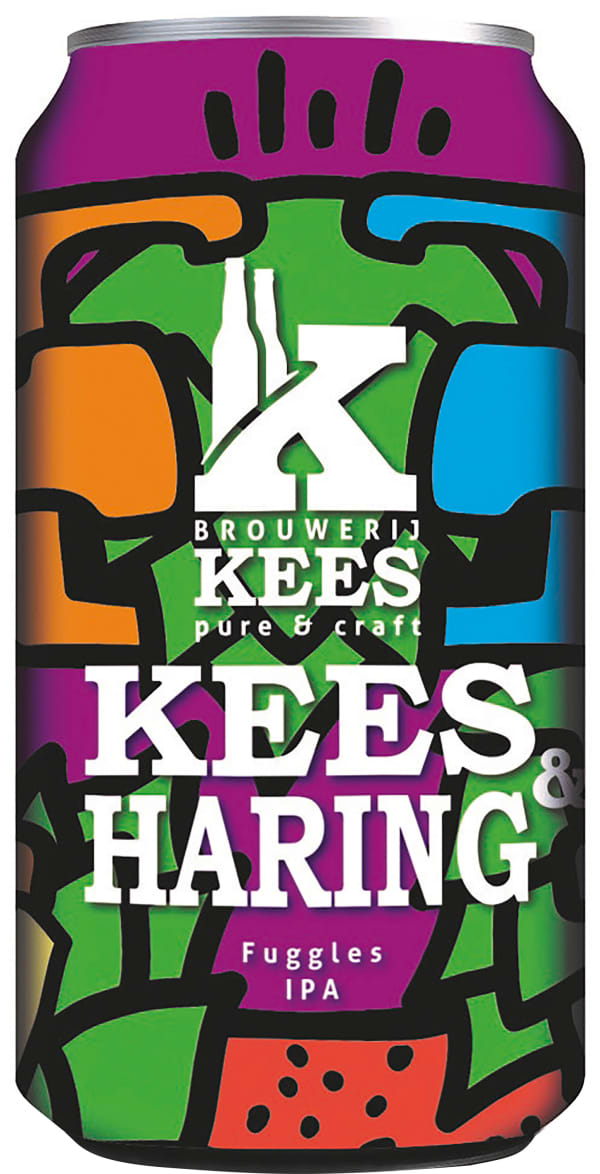 Kees & Haring Fuggles IPA burk