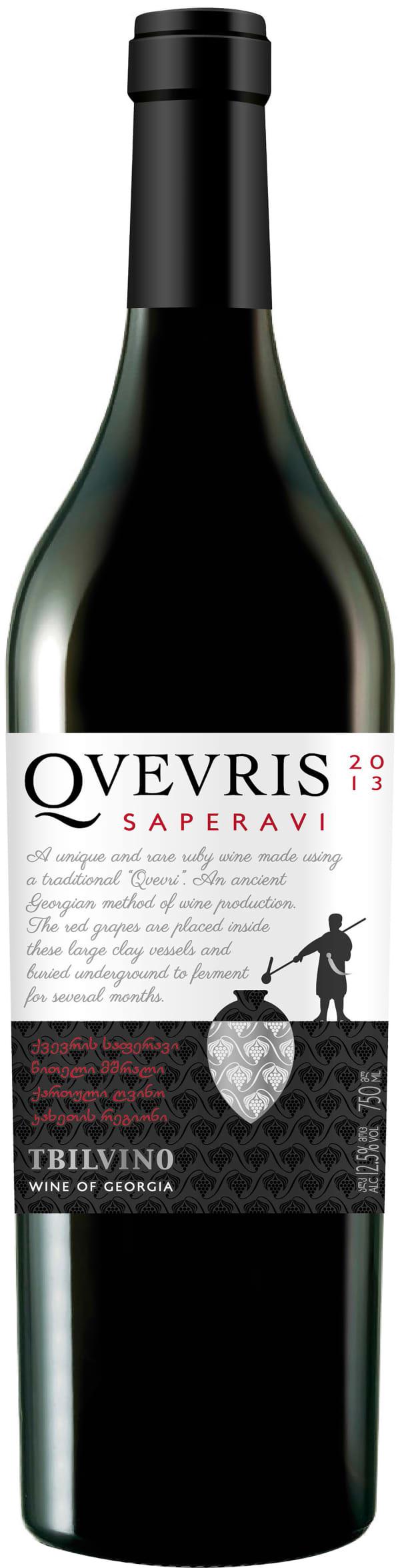 Tbilvino Qvevris Saperavi 2015
