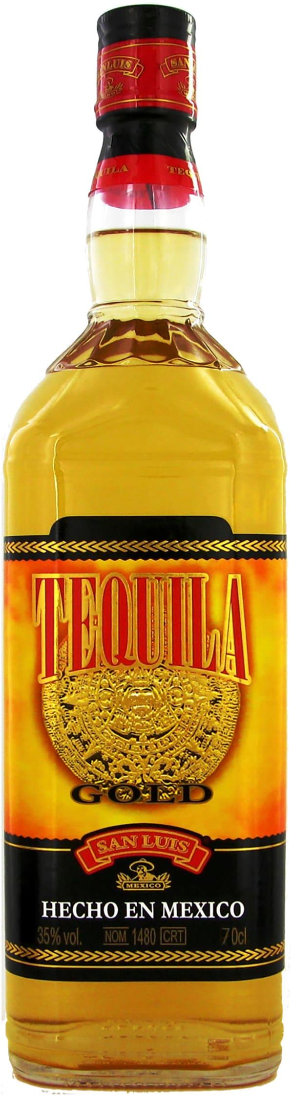 San Luis Gold Tequila