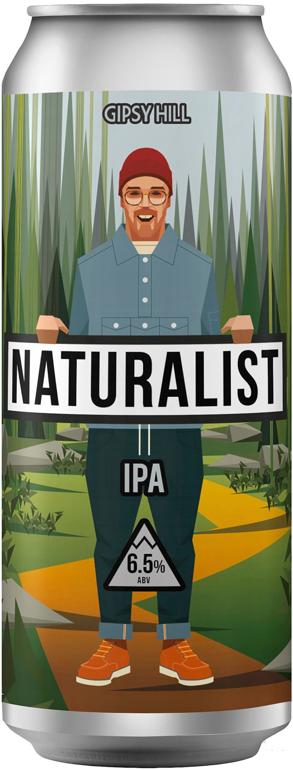 Gipsy Hill Naturalist IPA can