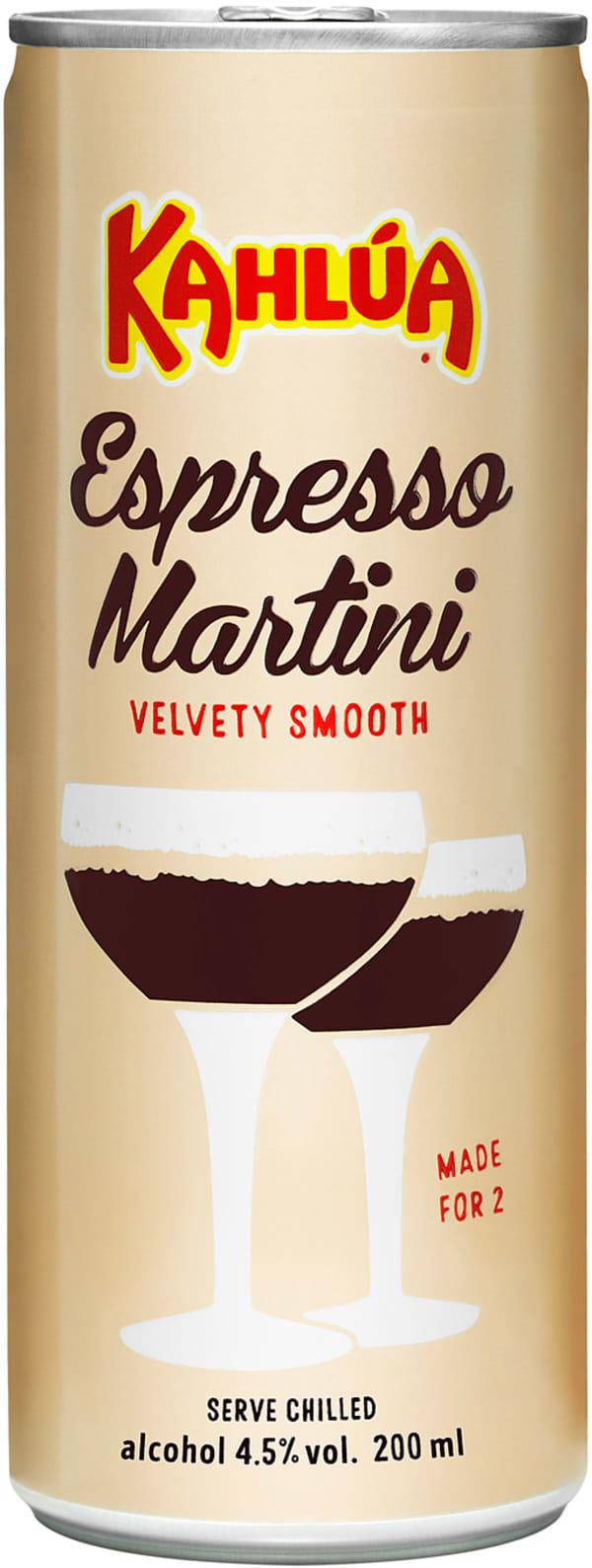 Kahlúa Espresso Martini can