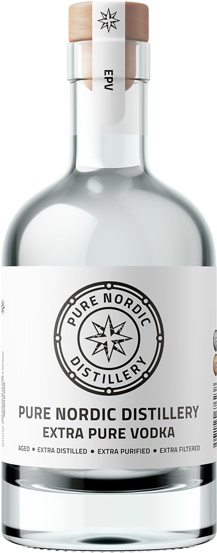 Pure Nordic Distillery Extra Pure Vodka 2021