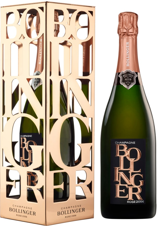 Bollinger Vintage Rosé Champagne Brut 2006