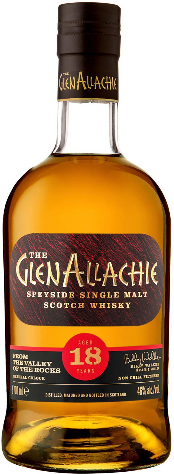 GlenAllachie 18 Year Old Single Malt