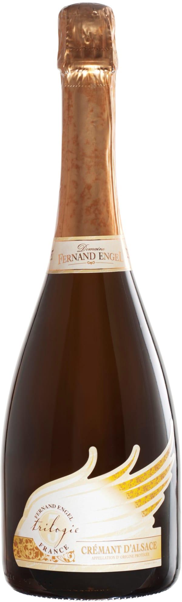 Fernand Engel Trilogie Crémant d'Alsace Dosage Zero 2010