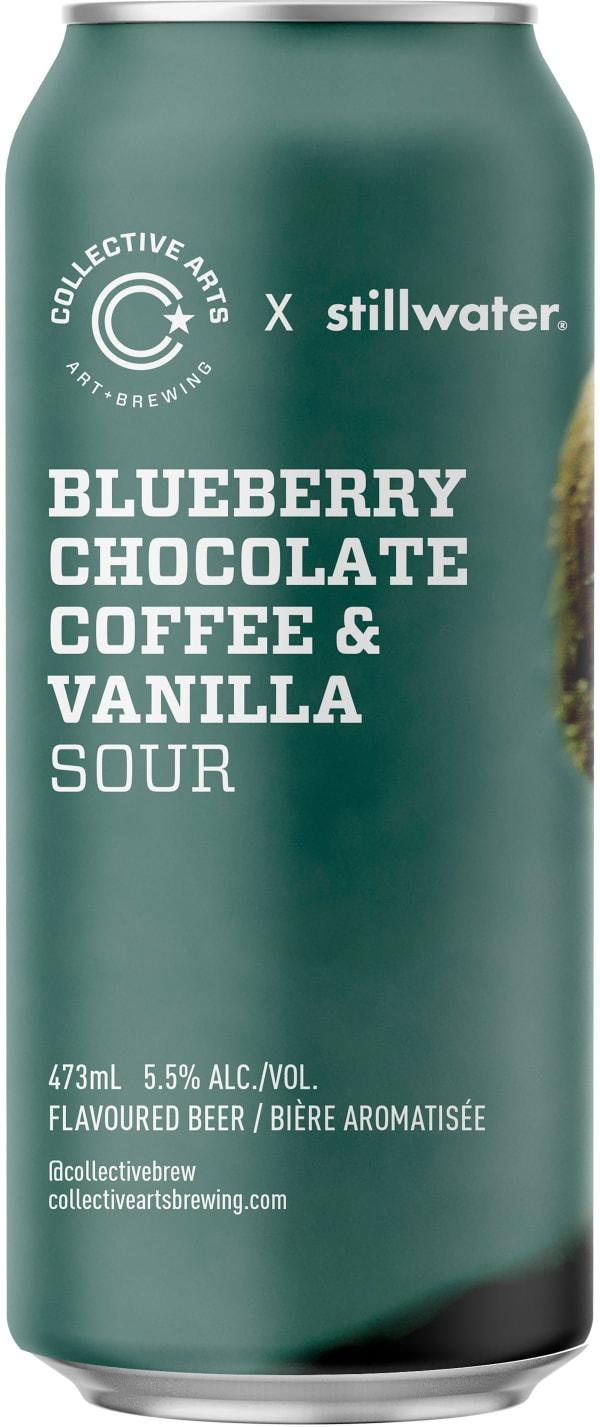 Collective Arts Blueberry Chocolate Coffee & Vanilla Sour can