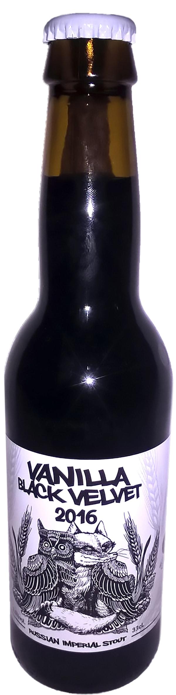 La Quince & Cervesa Guineu Vanilla Black Velvet 2018