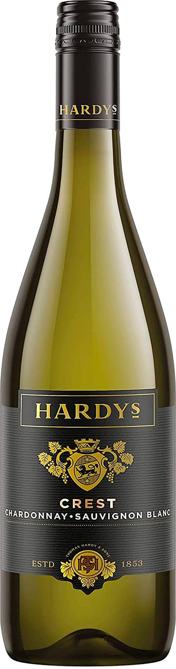Hardys Crest Chardonnay Sauvignon Blanc 2016