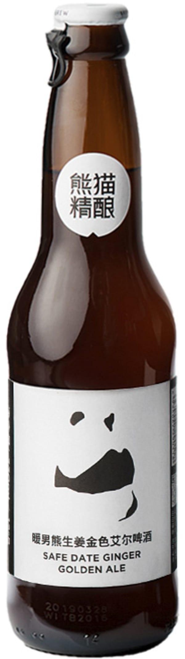 Panda Safe Date Ginger Golden Ale