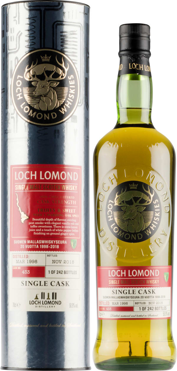 Loch Lomond Single Malt Scotch Whisky Cask no. 433