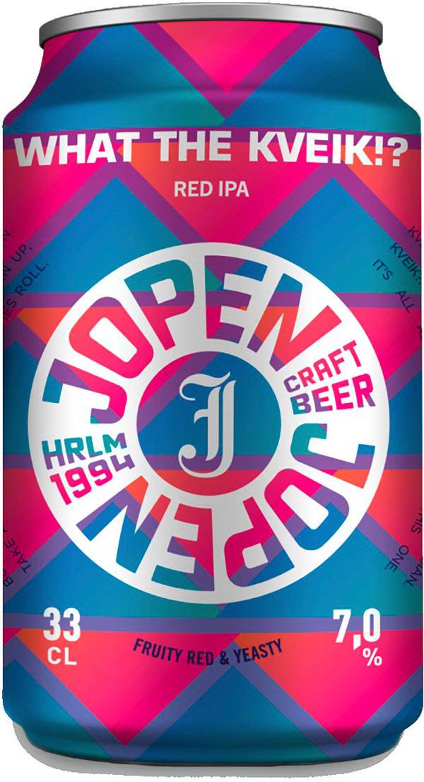 Jopen What the Kveik Red IPA can