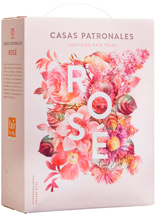 Casas Patronales Rosé hanapakkaus