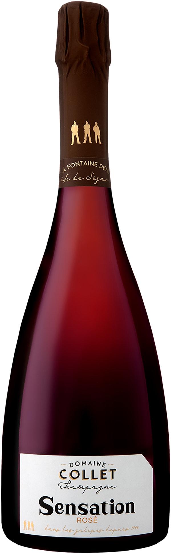 Rene Collet Anthime Sensation Champagne Rose Extra Brut 2015