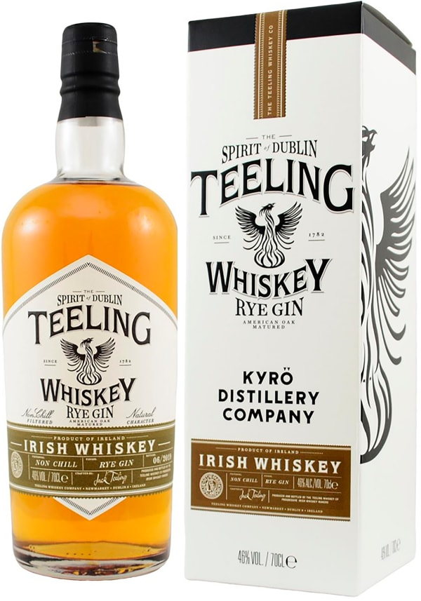Teeling Whiskey Kyrö Rye Gin Small Batch Collaboration