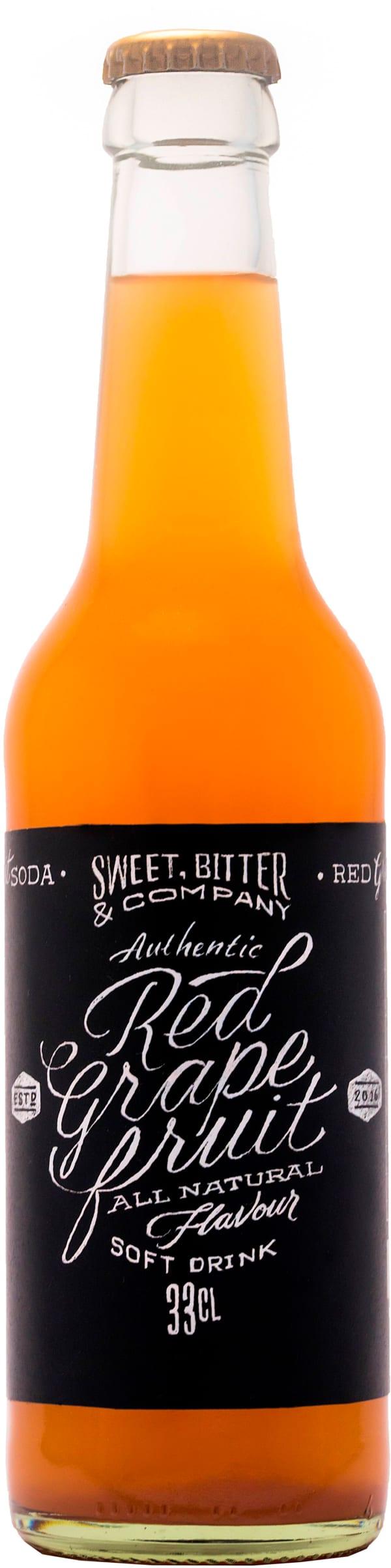 Sweet, Bitter & Co Red Grapefruit Soda