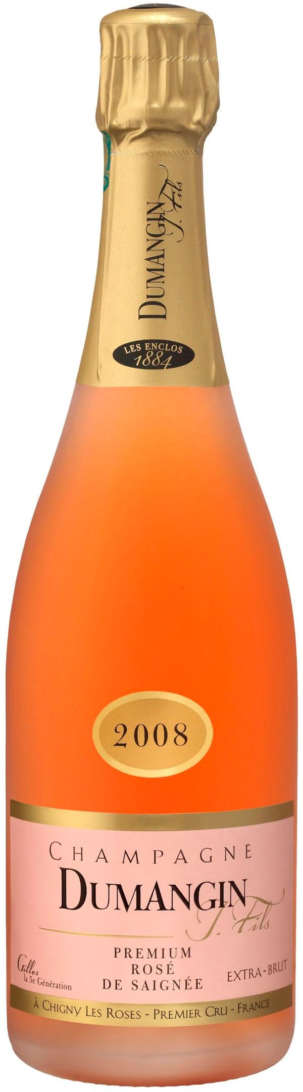 Dumangin Premium Rosé de Saignée Champagne Extra Brut 2008