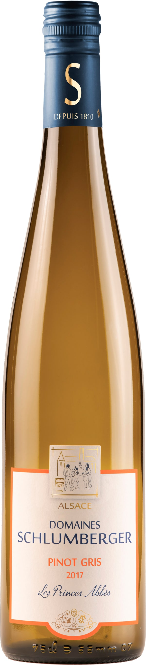 Domaines Schlumberger Pinot Gris Les Princes Abbés 2015