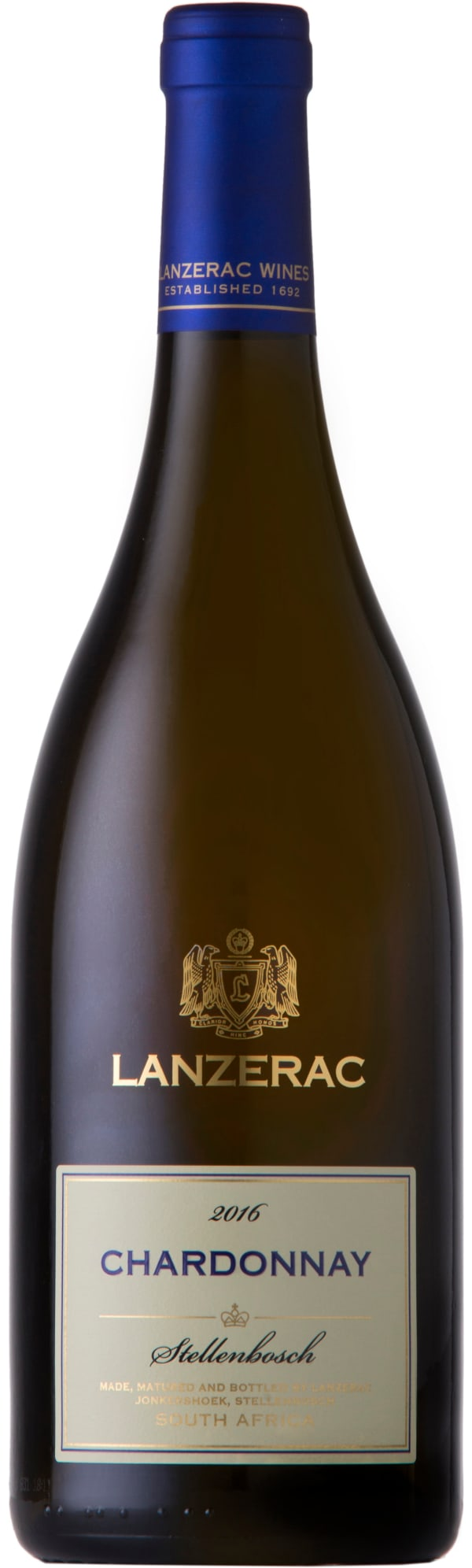 Lanzerac Chardonnay 2016