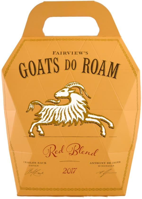 Goats do Roam Red bag-in-box