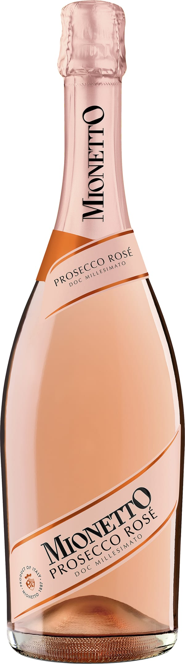 Mionetto Millesimato Prosecco Rosé Extra Dry 2019